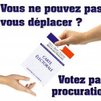 Contre une forte abstention, une solution: la procuration